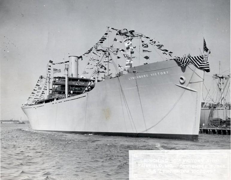 WWII Lynchburg Victory Ship V (06139)