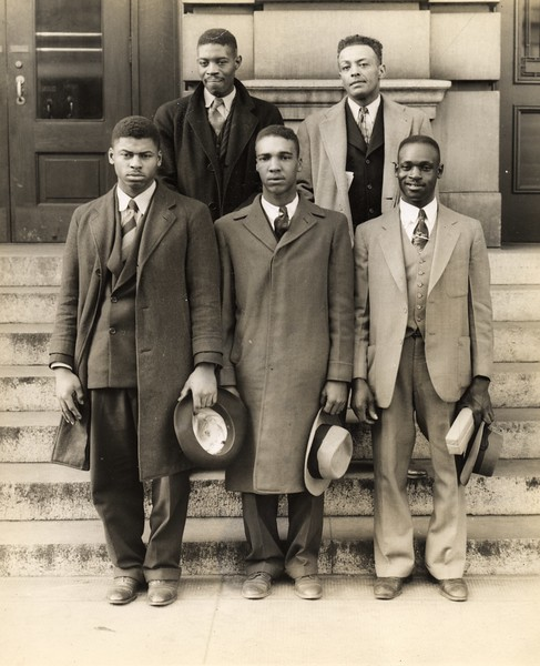 African-American Draftees, World War Two     XVI