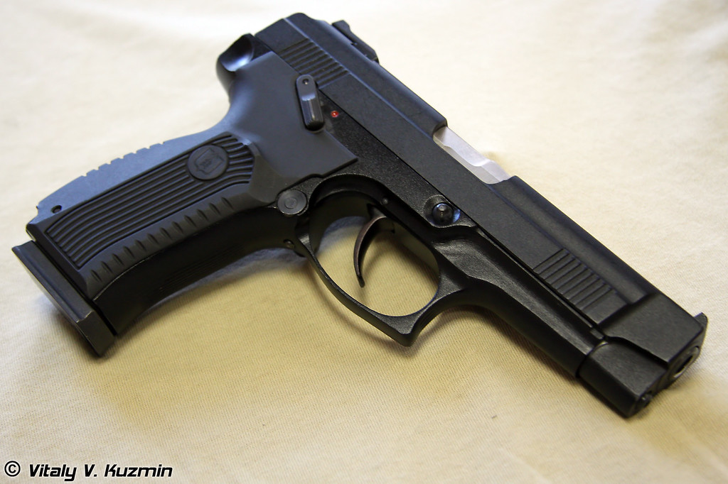 9-мм Пистолет Ярыгина ПЯ 6П35 (9mm PYa 6P35 Yarygin pistol, also know as MP-443 Grach)