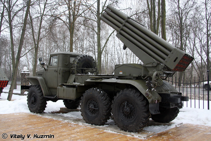 БМ-21 Град на базе Урал-375Д (BM-21 Grad on Ural-375D chassis)