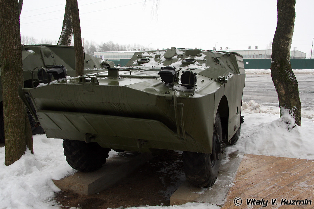 9П110 боевая машина ПТРК 9К14 Малютка на базе БРДМ-1 (9P110 combat vehicle for ATGM 9K14 Malyutka on BRDM-1 chassis)