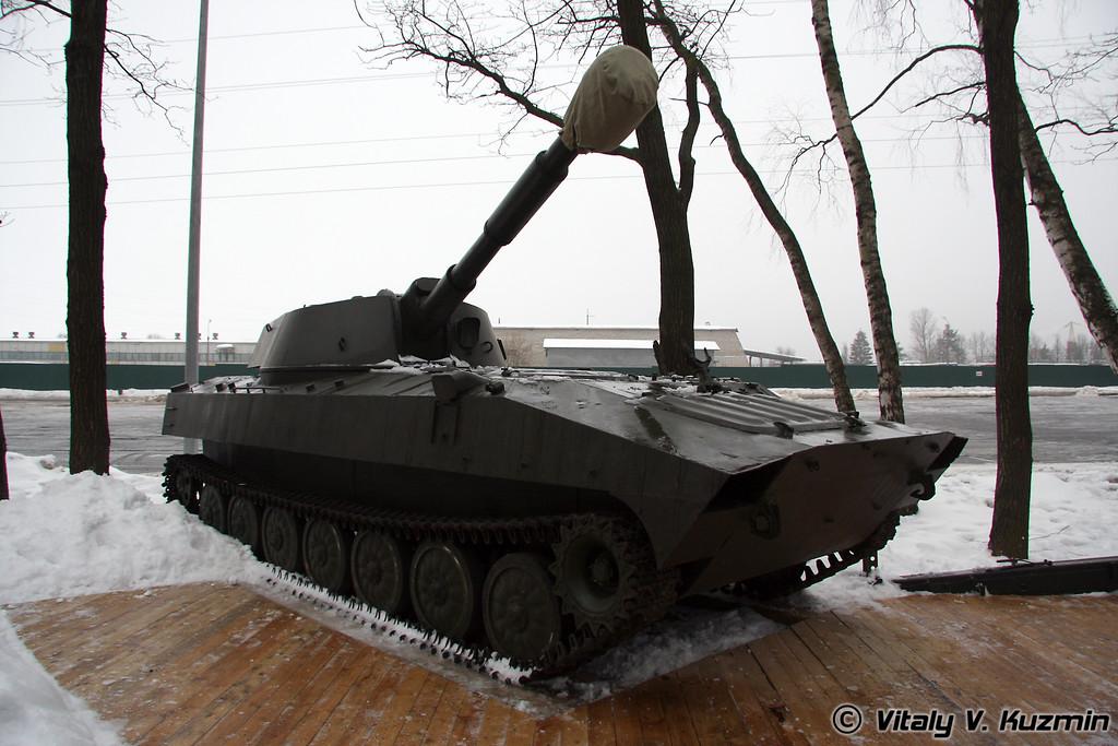 122-мм самоходная гаубица 2С1 Гвоздика (122-mm self-propelled howitzer 2S1 Gvozdika)