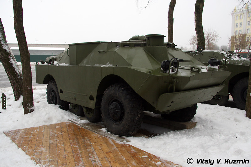 9П148 боевая машина ПТРК 9К111 Фагот на базе БРДМ-2 (9P148 combat vehicle for ATGM 9K111 Fagot on BRDM-2 chassis)
