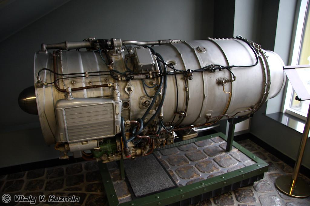 АИ-25 1965г (AI-25 engine 1965 year)