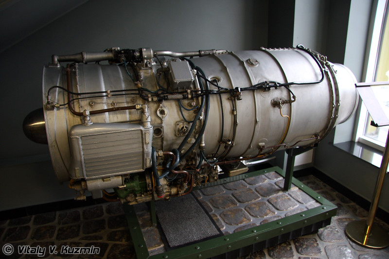 АИ-25 1965г (AI-25 engine 1965 year)