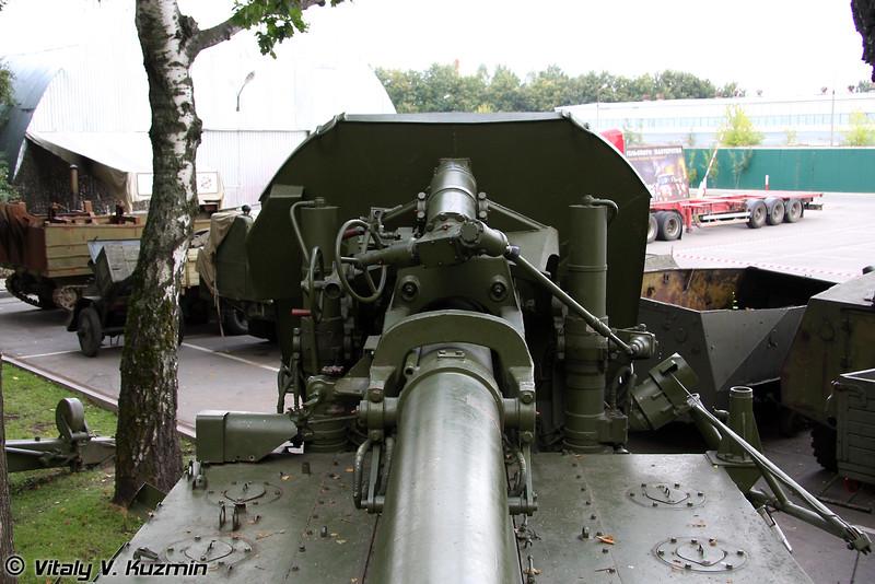 Самоходный 240-мм миномет 2С4 Тюльпан (240-mm 2S4 Tyulpan self-propelled mortar)