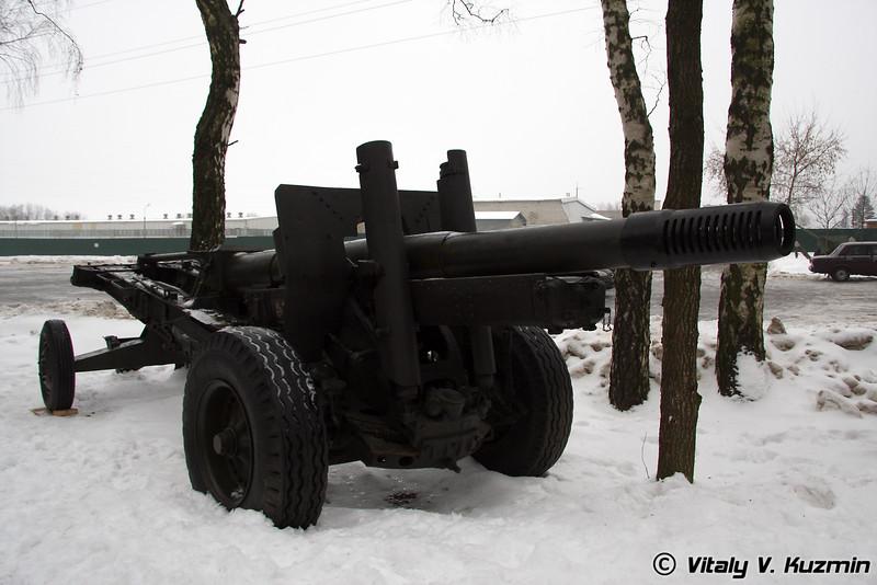 152-мм гаубица-пушка образца 1937 года МЛ-20 (152-mm ML-20 howitzer-gun)