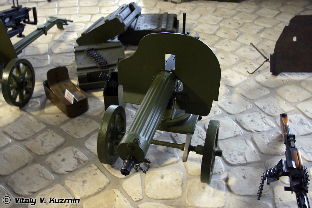 Пулемет Максим (Maksim machinegun)
