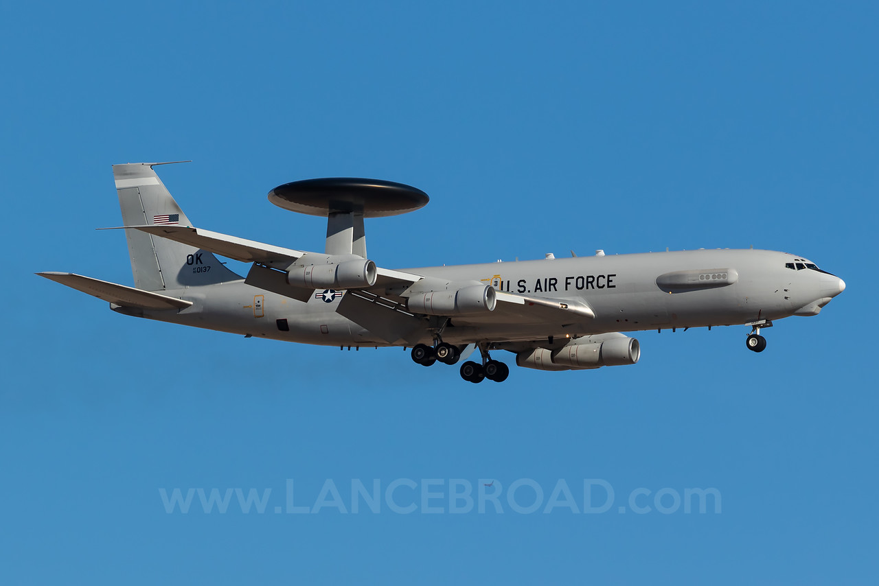 United States Air Force E-3C - 80-0137 - LSV