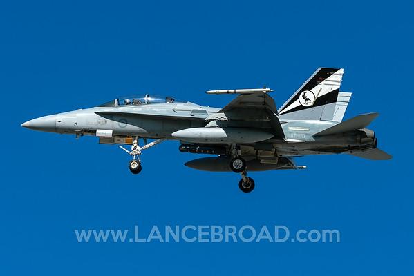 Royal Australian Air Force FA-18B - A21-117 - TSV