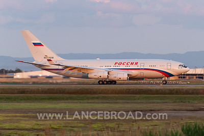Rossiya Special Flight Detachment Il-96-300 - RA-96018 - BNE