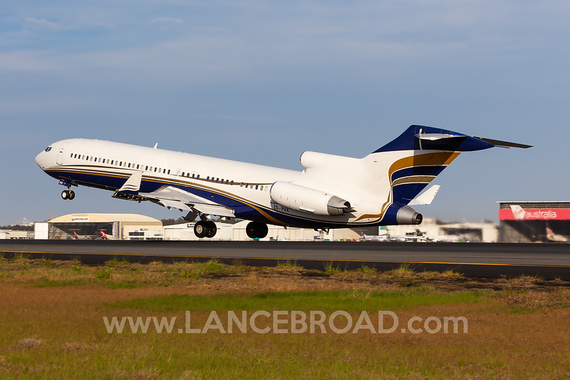 Fortune Air 727-200 - ZS-PVX - BNE