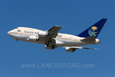 Saudi Ariabia 747SP - HZ-HM1C - BNE