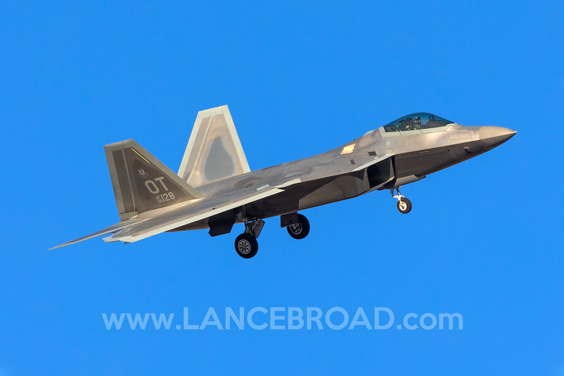 United States Air Force F-22A - 06-4128 - LSV