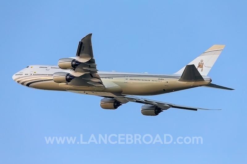 Brunei Government 747-8 - V8-BKH - CNS