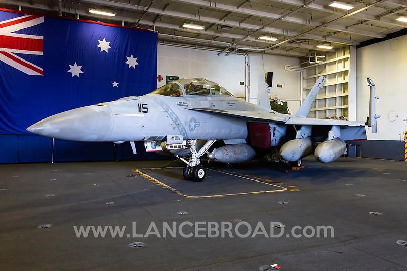 United States Navy F/A-18F - 166927 -