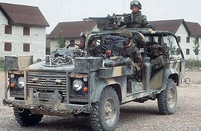 Land Rover Military 121