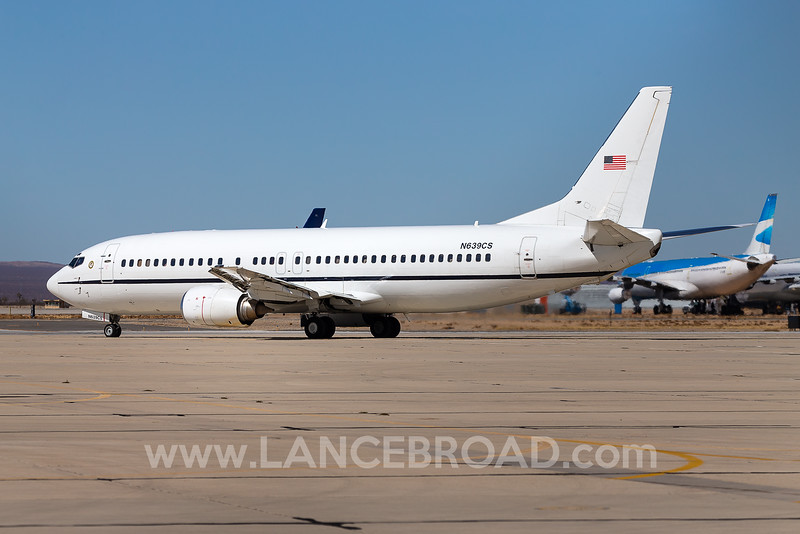 US Marshals Service 737-400 - N639CS - VCV