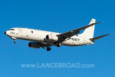 United States Navy P-8A - 168754 - TSV