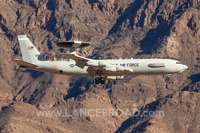 United States Air Force E-3B - 76-1607 - LSV