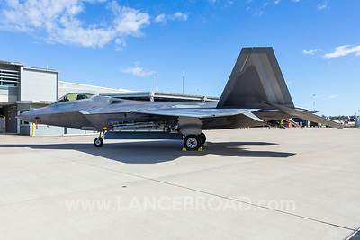 United States Air Force F-22A - 07-4148 - YAMB