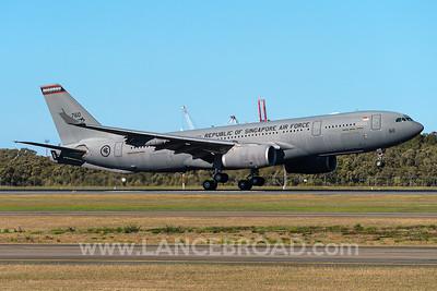 Republic of Singapore Air Force KC-30A - 760 - BNE