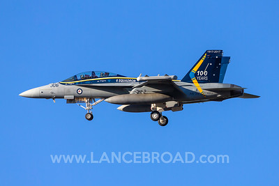 Royal Australian Air Force EA-18G - A46-306 - YAMB
