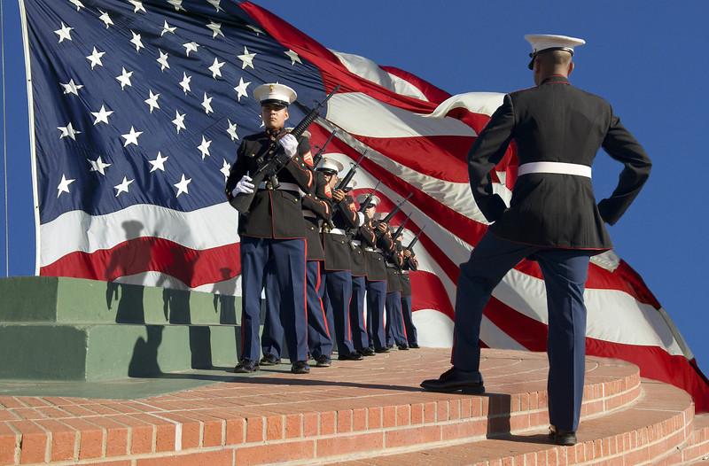 Respect - USMC Drill Squad