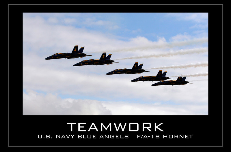 Teamwork - Blue Angels
