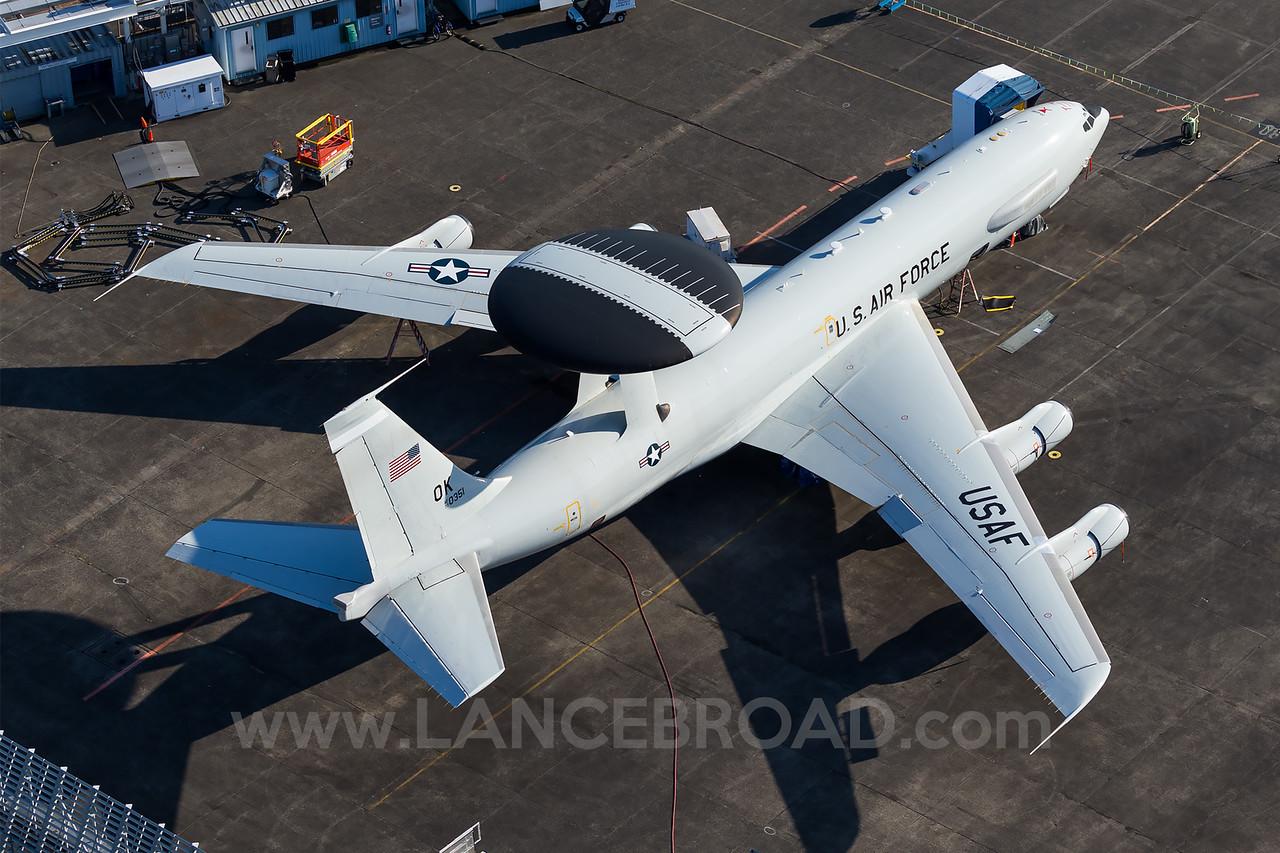 United States Air Force E-3B Sentry - 77-0351 - BFI