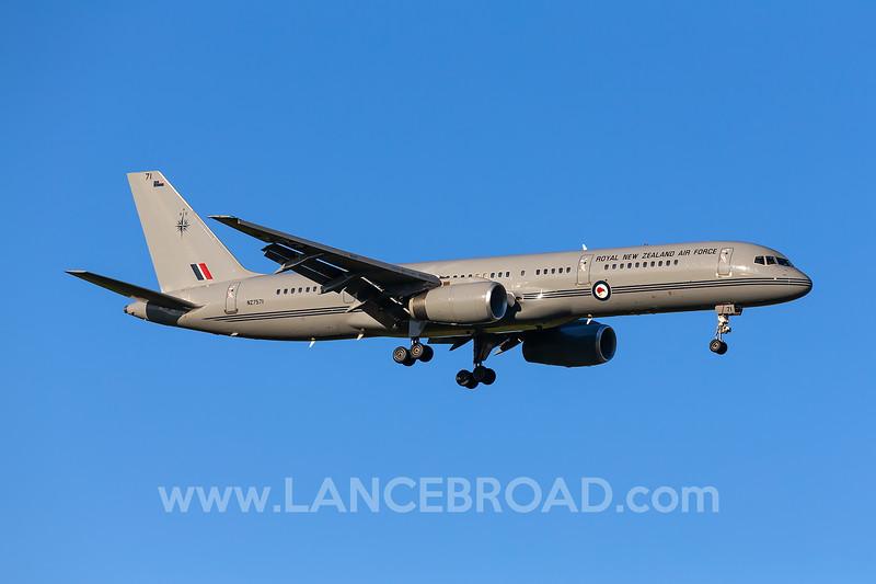 Royal New Zealand Air Force 757-200 - NZ7571 - CNS