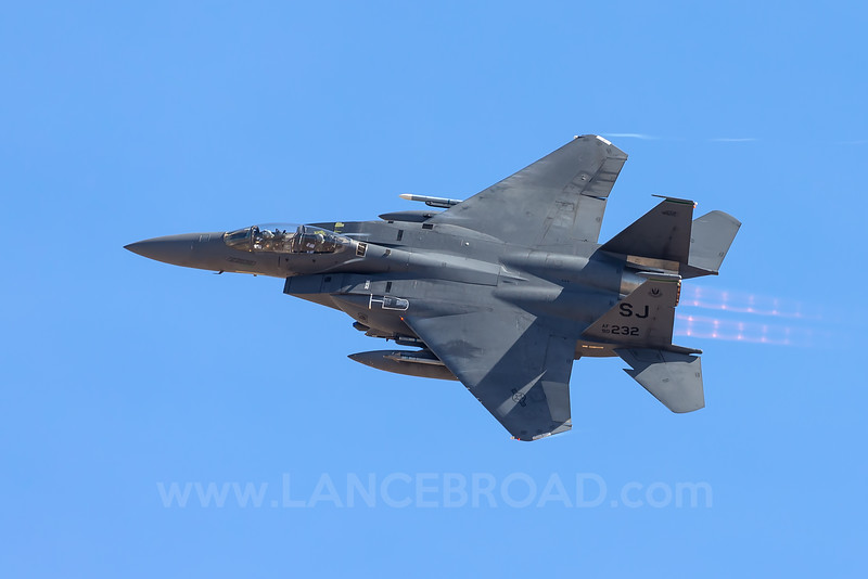 United States Air Force F-15 Strike Eagle - 90-0232 - LSV