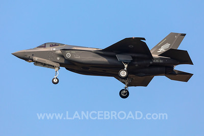 Royal Australian Air Force F-35A - A35-011 - YAMB