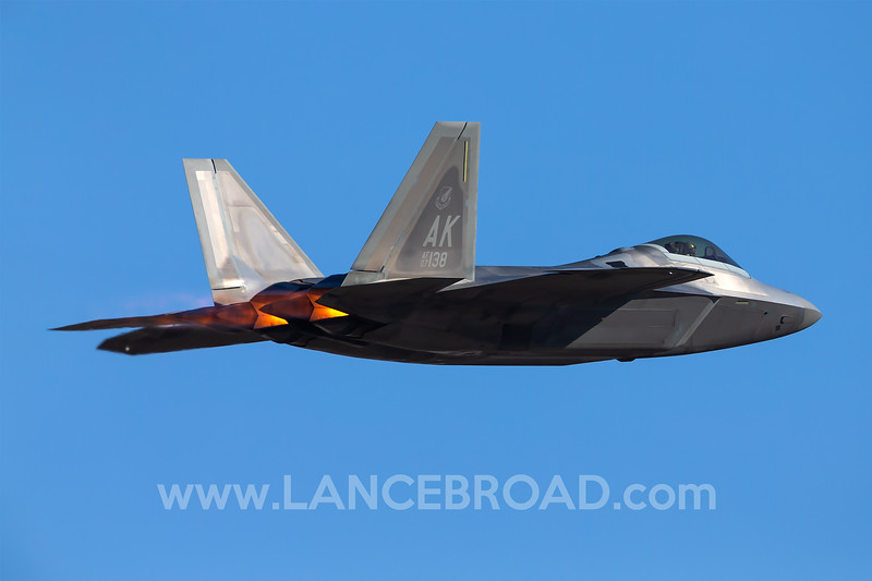 United States Air Force F-22A - 07-4138 - YAMB