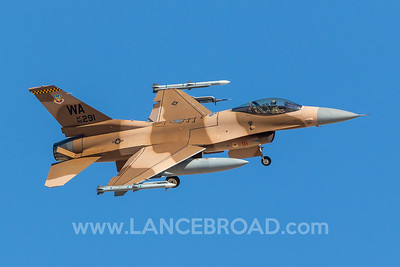 United States Air Force F-16C - 86-0291 - LSV