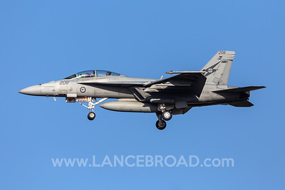 Royal Australian Air Force F/A-18F - A44-208 - YAMB