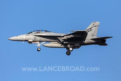 Royal Australian Air Force F/A-18F - A44-208 - YAMB