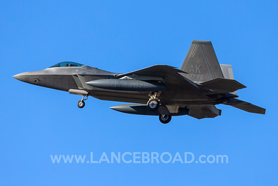 US Air Force F-22A - 07-4147 - YAMB