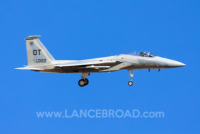 United States Air Force F-15C - 82-2022 - LSV