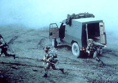 Land Rover Military 123