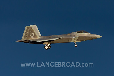 United States Air Force F-22A - 06-4124 - LSV