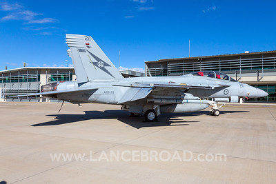Royal Australian Air Force FA-18F - A44-211 - YAMB