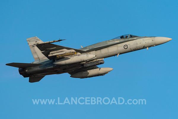 Royal Australian Air Force FA-18A - A21-43 - TSV