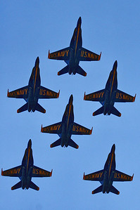 The Blue Angels, Spirit of St. Louis Airport; St. Louis, Missouri