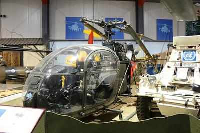 XR232 Aérospatiale SE.3130 Alouette AH2 @ Army Air Corps Museum 10.07.13