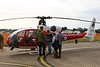 XX436 / 39 / CU / G-ZZLE Westland / Aerospatiale Gazelle AH1 @ RAF Cosford 19.06.16