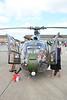 XX436 Westland / Aerospatiale Gazelle AH1 @ RNAS Yeovilton 11.07.15