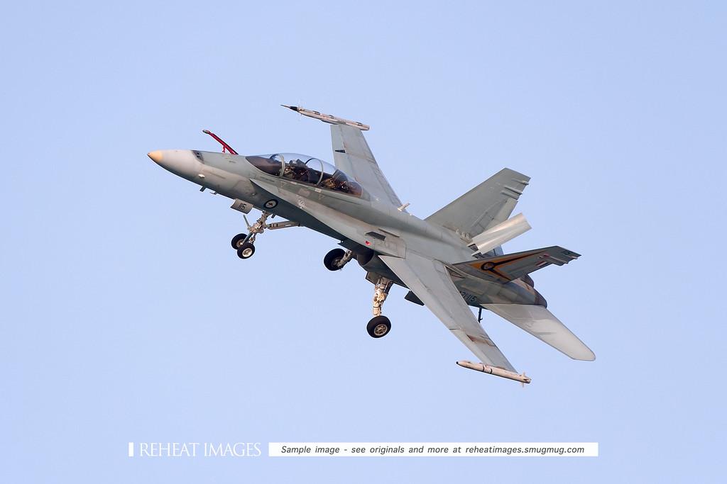 McDonnell-Douglas F/A-18B Hornet A21-115