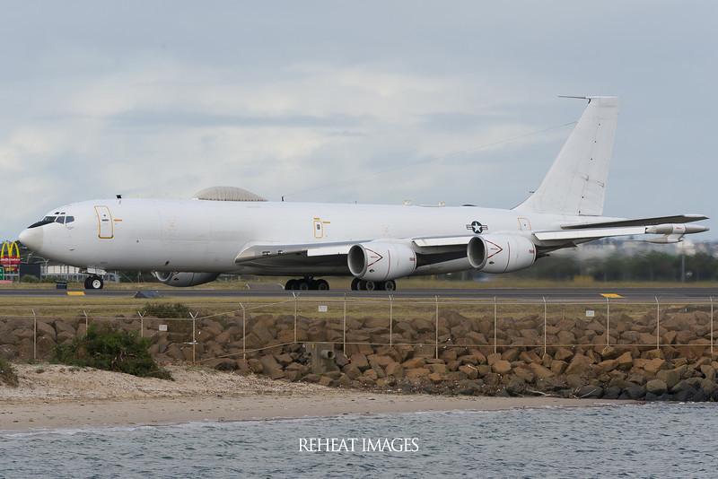 United States Navy Boeing E-6B Mercury at Sydney Airport