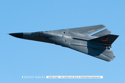 "Royal Australian Air Force General Dynamics F-111C ""Aardvark"" aircraft at 2010 Australian Defence Force Air show at Williamtown NSW."